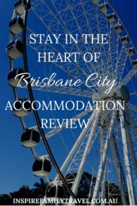 A review of the Sebel Hotel in Brisbane City