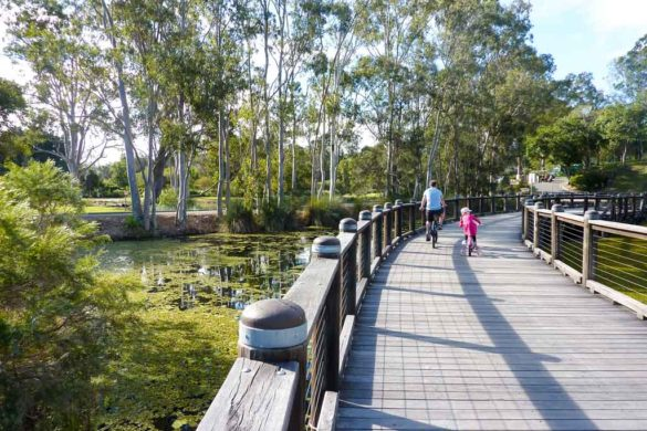 The stunning weather makes the Gold Coast a perfect destination to enjoy the great outdoors with kids. We share six of the best bike and walking tracks the Gold Coast has to offer.