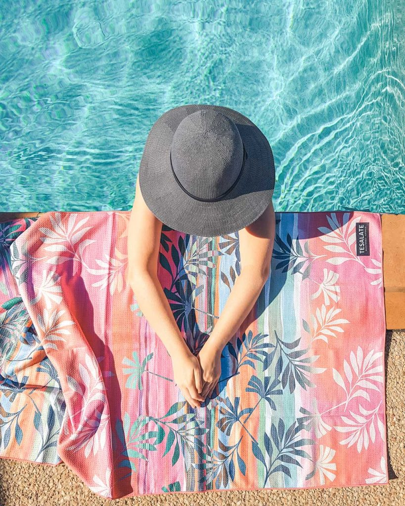 We share why the innovative Tesalate towel will be your number one summertime essential that you'll be taking everywhere.