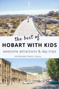 Hobart is one of the most family-friendly cities with lots of things to do in Hobart with kids as this guide showcases. Here you'll find an ultimate list of these sights plus all the incredible day trips from Hobart that are worth exploring.