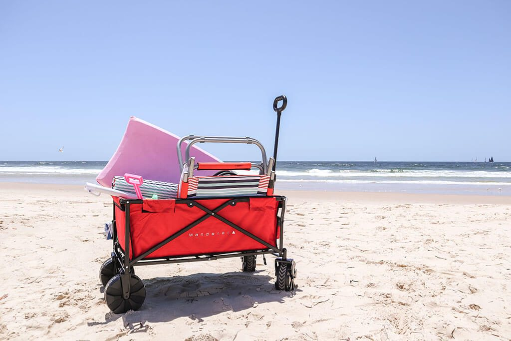 Enjoy the outdoors more with a Wanderer Beach Wagon. Read why this beach wagon is the best choice on the market, and what features to look for with a beach cart Australia buying guide.