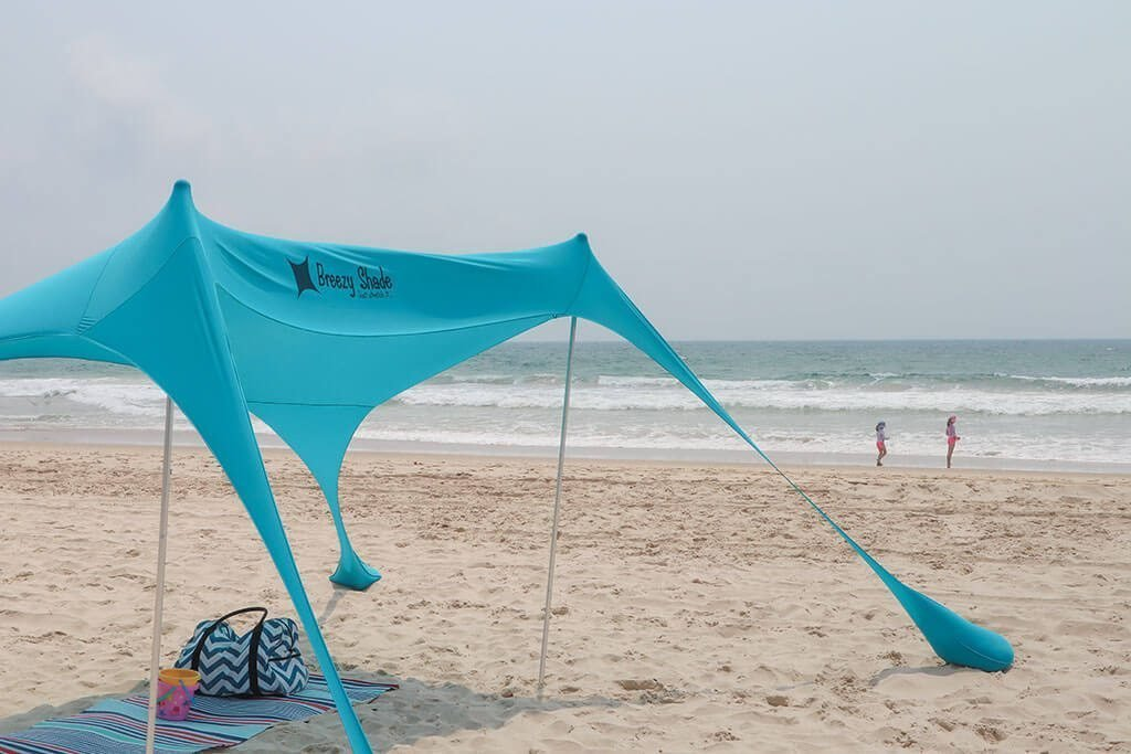 If you love the outdoors and are searching for a beach shade that can also be used in a variety of settings, the Breezy Shade will change the way you spend your time outside.